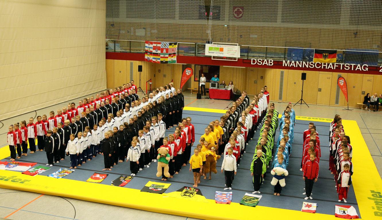 DSAB Mannschaftstag 2016 – ein Akrobatikfestival