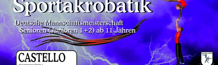 Deutsche Mannschaftsmeisterschaft der Sportakrobatik kommt ins CASTELLO Düsseldorf