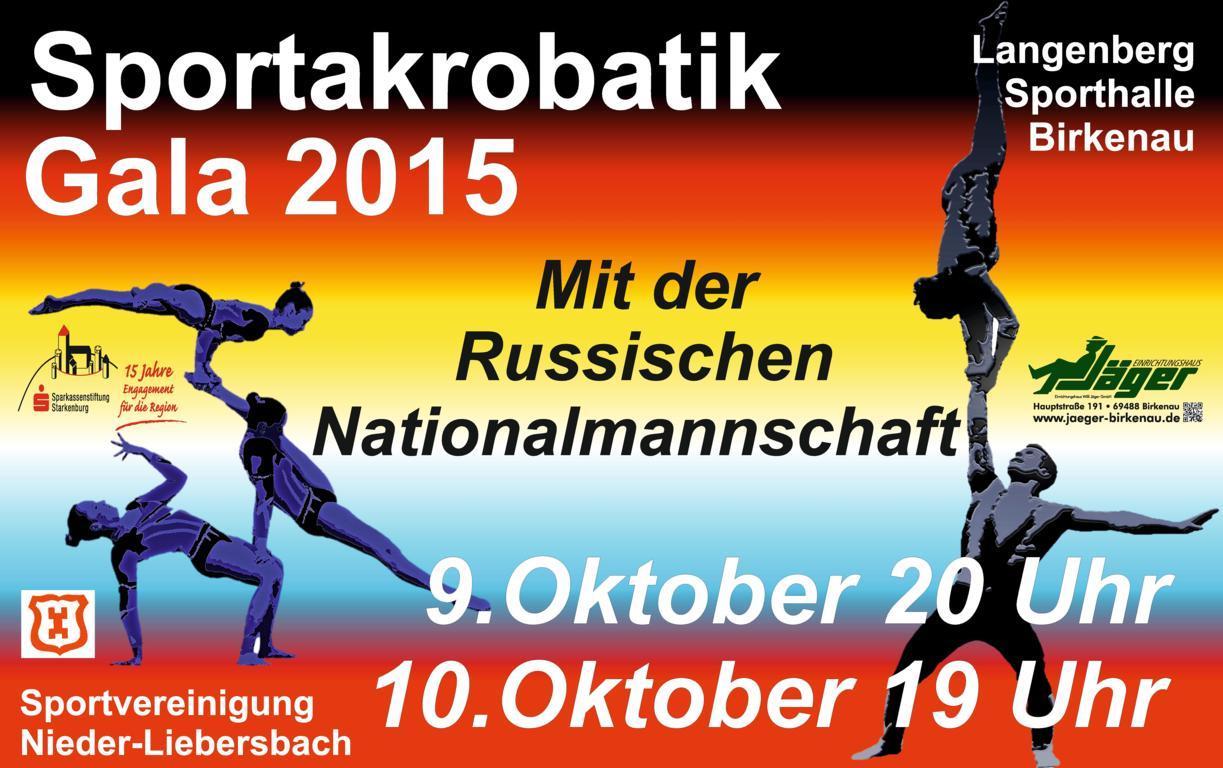 SVG Sportakrobatik-Gala mit Russischer Nationalmannschaft