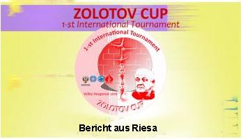 Riesa: Großartiger Erfolg beim Zolotov Cup in Russland