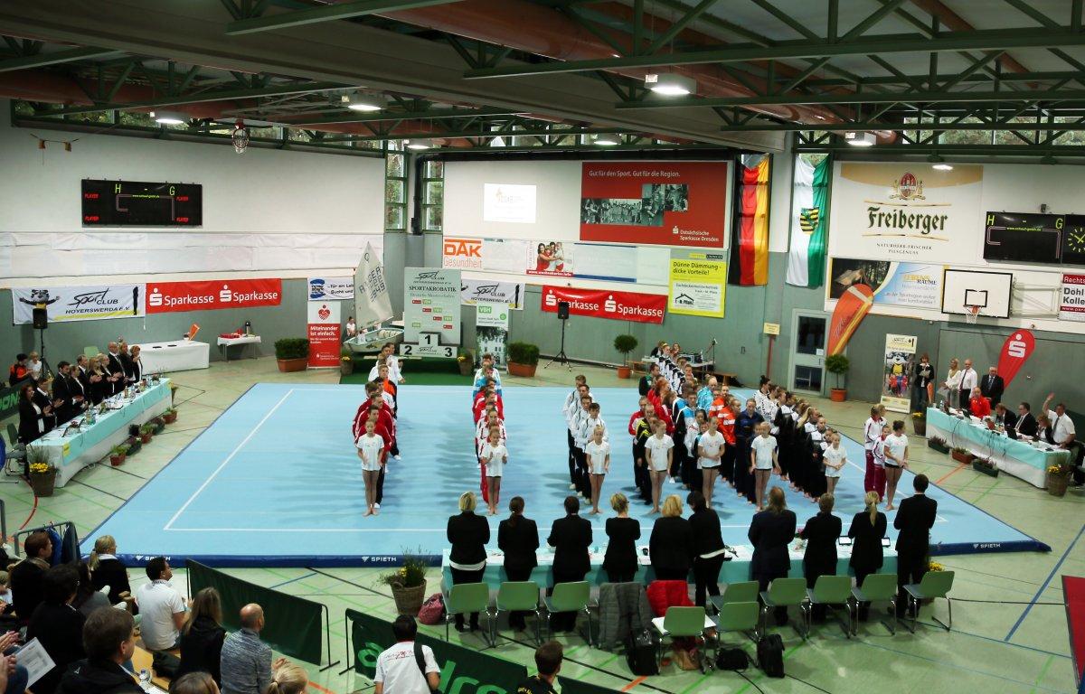 Deutsche Meisterschaften Junioren 1 und Senioren