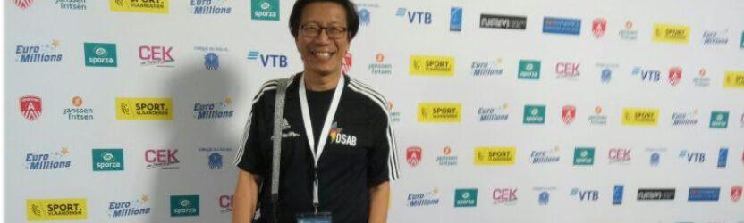 Felix Kuntoro bei der WM