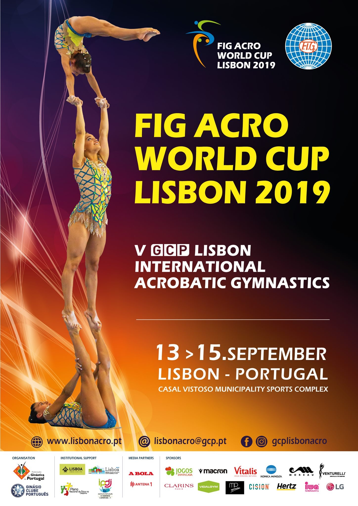 GCP Lisbon International Acrobatic Gymnastics/ Portugal