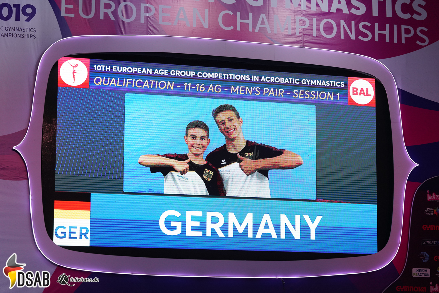 """""""Germany is in the house!"""""""