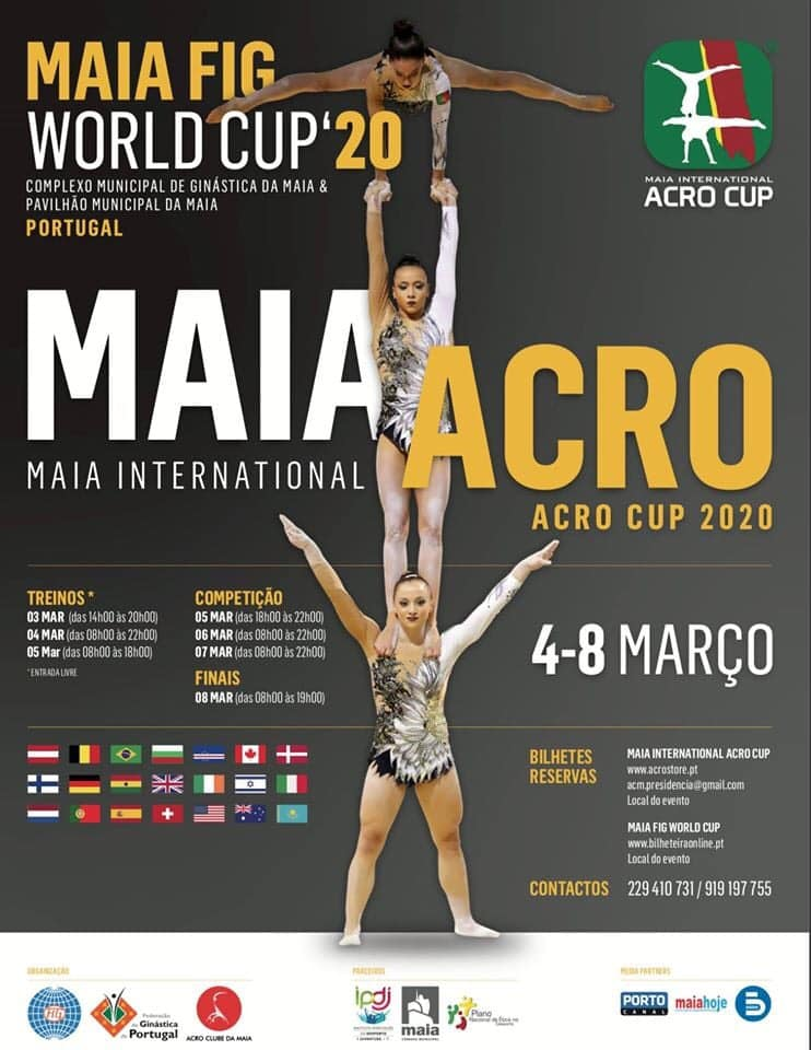MAIA ACRO FIG WORLD CUP 2020