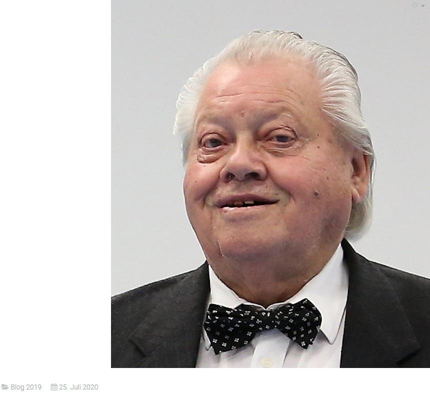 Trauer um Horst Stephan