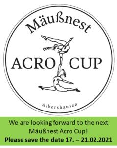 Internationale Mäussnest Acro Cup 2021