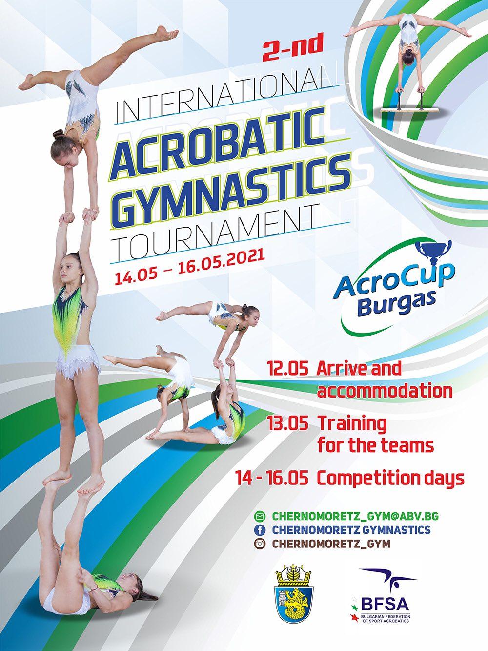 International Acro Cup Burgas/BUL