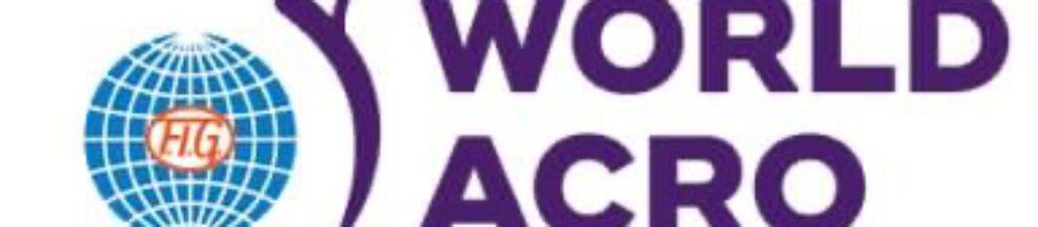 27. FIG Acrobatic Gymnastics_World Championships